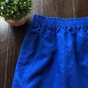 NWT Cobalt blue JCREW skirt